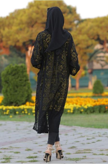 Som Fashion - Hilal Kap Siyah