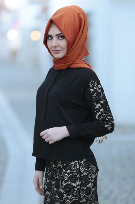 Som Fashion - Gonca Bluz Etek Takım