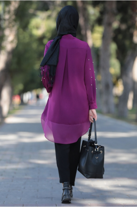 Som Fashion - Fuşya Tarz Tunik