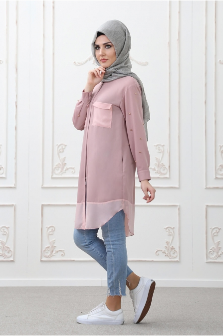 Tarz Tunik Pudra - Som Fashion