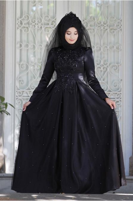 Aden Abiye - Siyah - Sümay Moda