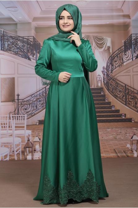 Sümay - Kayra Abiye - Zümrüt Yeşili