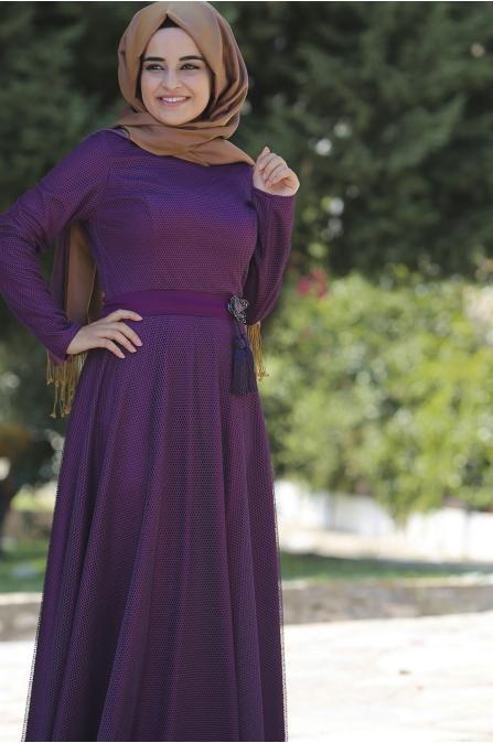Sümay - Mor - Ayliz Abiye