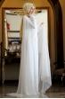 Sümay - Ekru Aymina Abiye Elbise