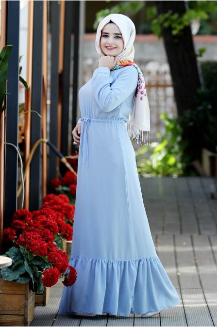 Elisa Elbise - Bebe Mavi - Sümay Moda