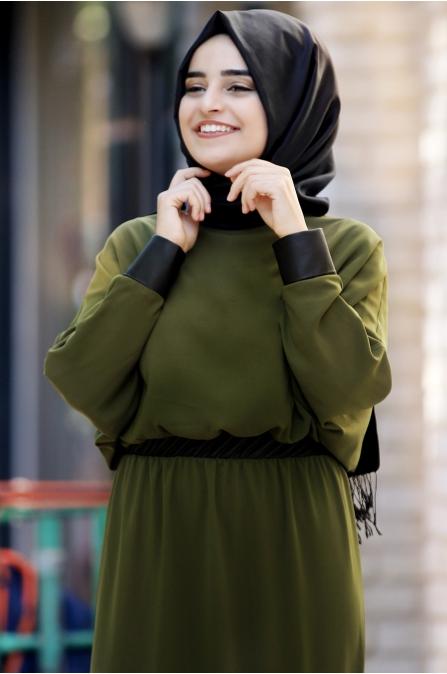 Sümay - Fulya Elbise - Yeşil