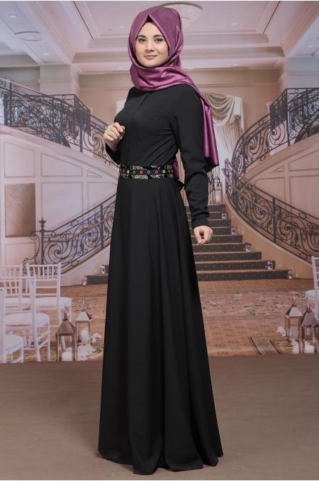 Sümay - Fulya Elbise - Siyah