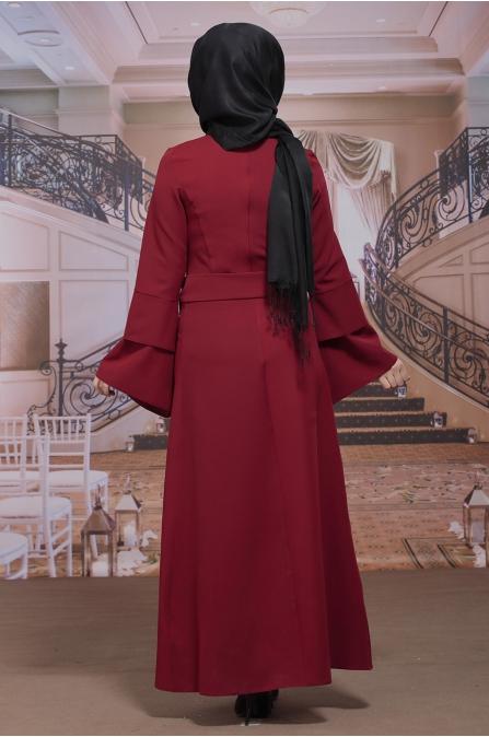 Rana Kırmızı Elbise - Sümay Moda