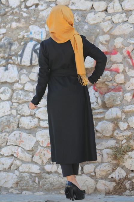 Sümay - Siyah Vina Ceket