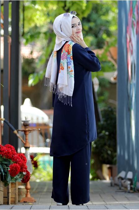 Buğlem Takım - Lacivert - Sümay Moda