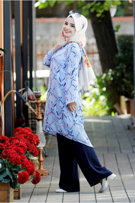 Buğlem Takım - Mavi - Sümay Moda