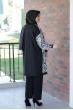 Şehrizade Ceket Pantolon Takım - Ekru
