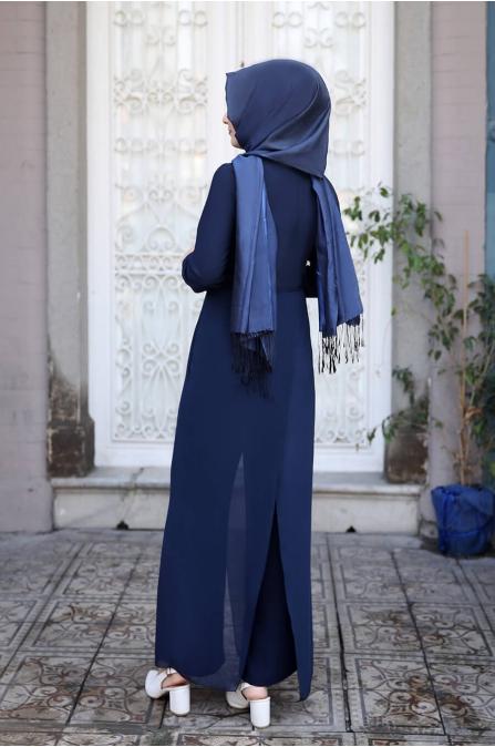 Zarif Tulum - Lacivert - Sümay Moda