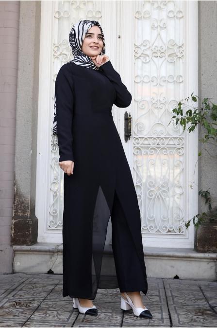 Zarif Tulum - Siyah - Sümay Moda