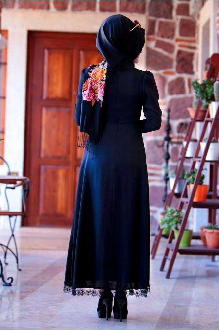 Buse Elbise - Siyah - Sümeyra Aksu