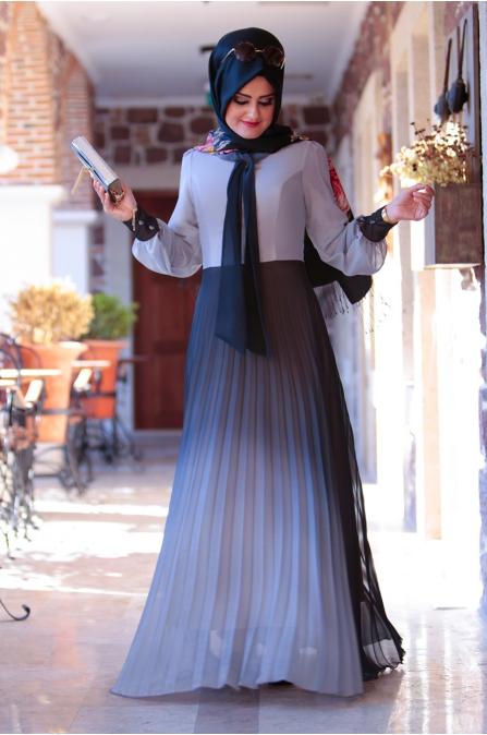 Hasret Elbise - Siyah - Sümeyra Aksu