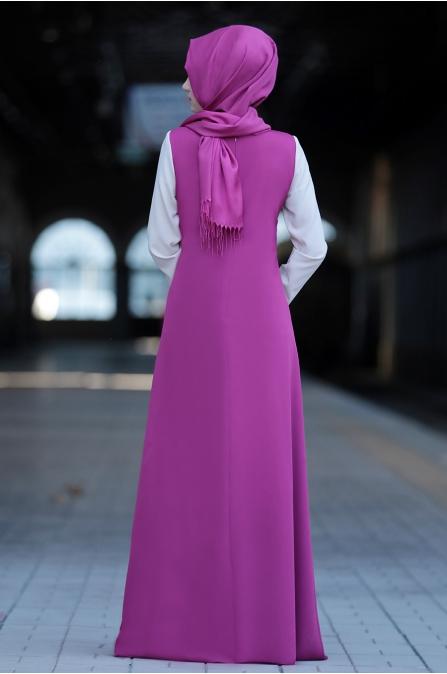 Sure - Ahenk Elbise - Fuşya
