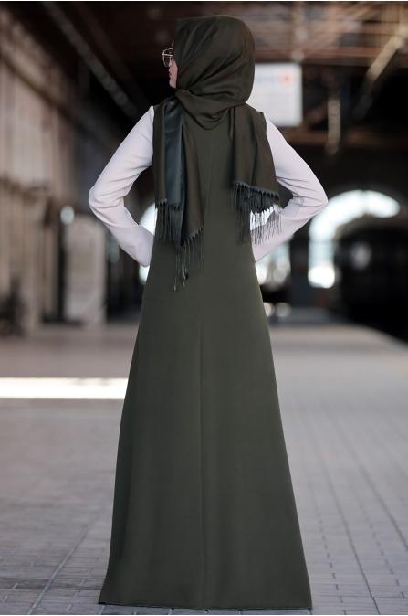 Sure - Ahenk Elbise - Haki