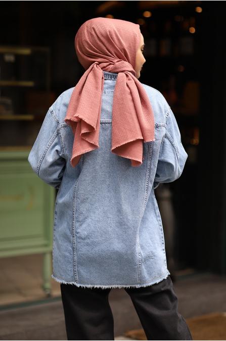 Kot Ceket Açık Mavi
